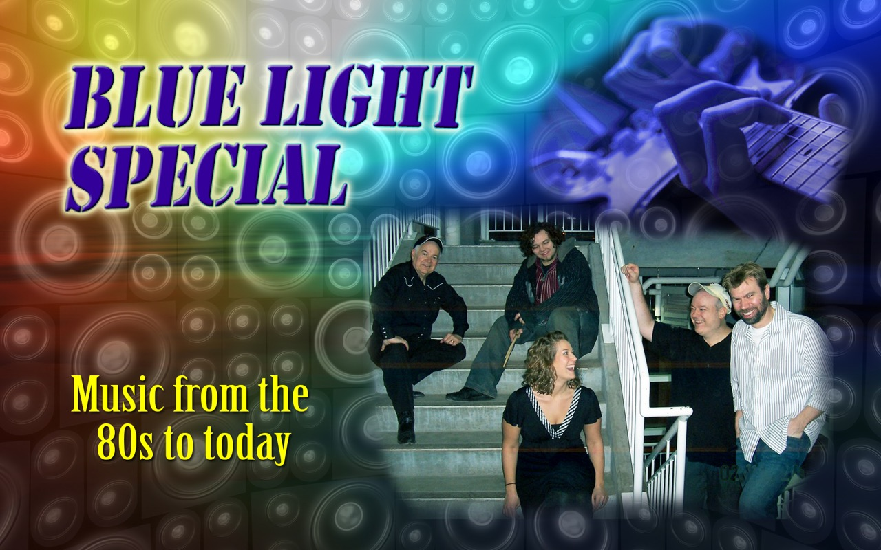blue light special band